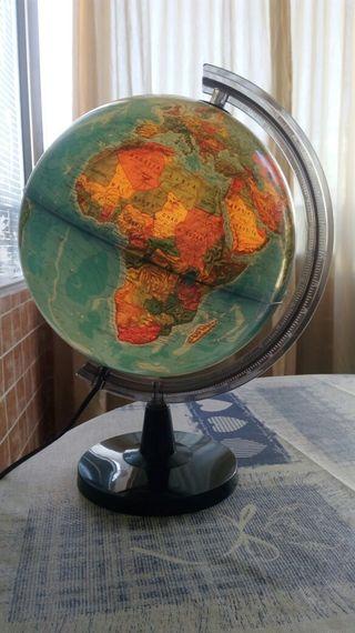 bola mundo ,lamparita