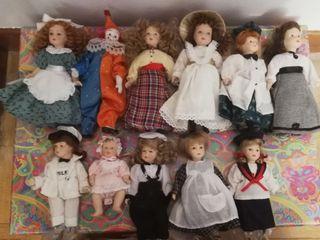 Muñecas porcelana de colección