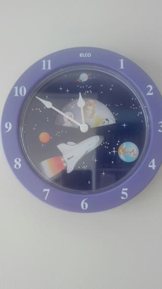 Reloj pared infantil