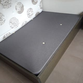 base tapizada cama