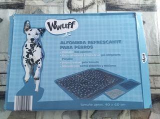 alfombra refrescante perro