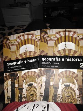 libros de geografia e historia