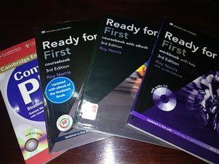 Lote 4 libros de inglés gramática.