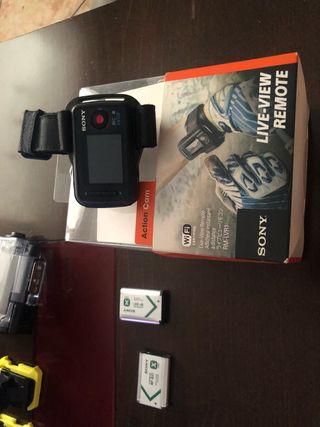 Sony action cam,camara de accion, gopro
