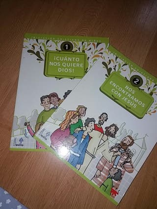 libros catequesis 1 y 2