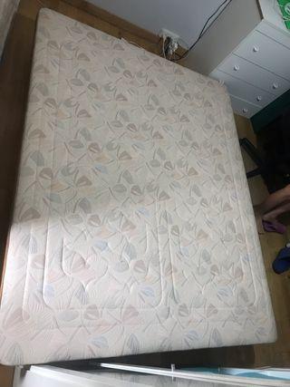 Somier Aspol tapizado alta calidad 1,50x1,90