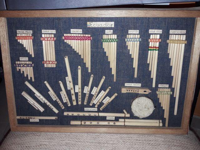 Cuadro instrumentos de ecuador