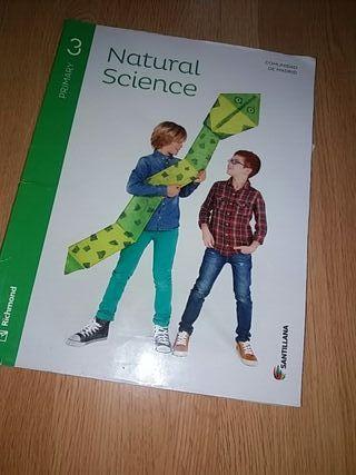 libro natural science 3 primaria