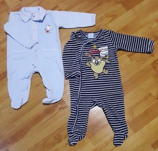 LOTE 8 - 2 pijamas bebe