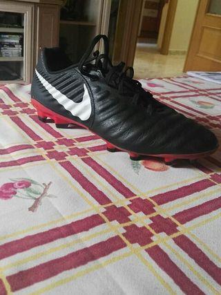 botas de fútbol de piel talla 44