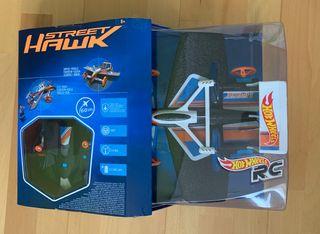 Street Hawk de Hot Wheels. Coche/avión volador