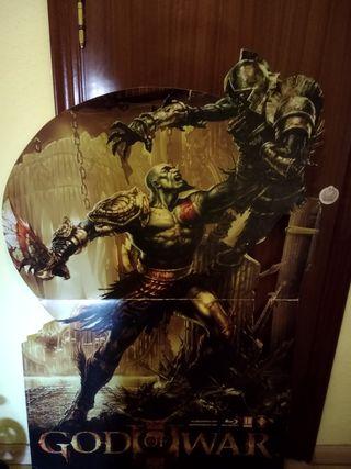 cartel Kratos god of war 3