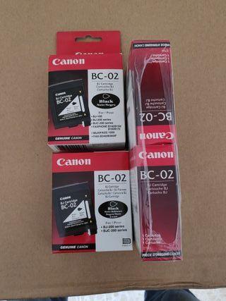Cartuchos Canon BC-02