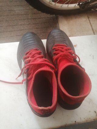 botas de fútbol 40 adidas