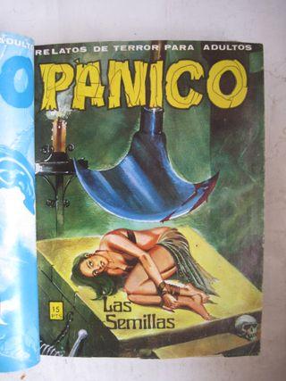 comic tebeo de terror Pánico luz mortal barco 1984