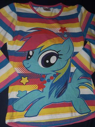 Camiseta pony talla 5-6 años