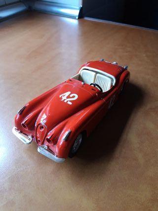 maqueta de coche jaguar xk 120