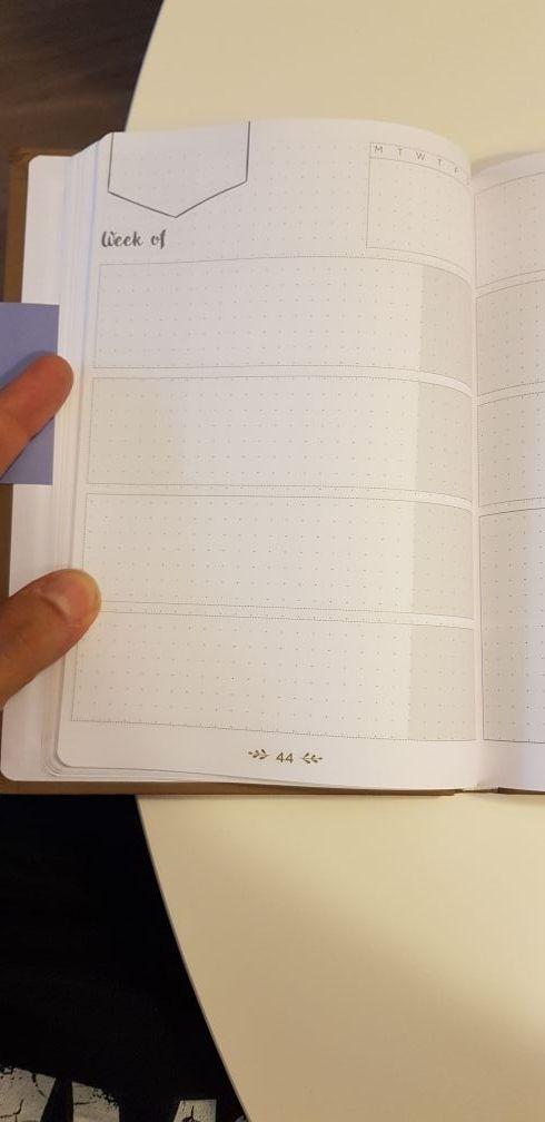 Diario agenda atemporal
