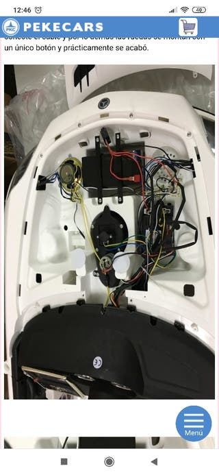 Mercedes SLS batería 12v