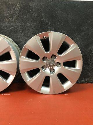 Llantas originales Audi de 17 pulgadas