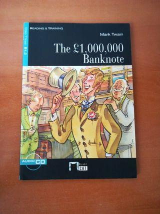 Libro lectura inglés THE £1,000,000 BANKNOTE