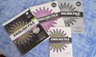 Libro inglés y cuadernillo A1 English file