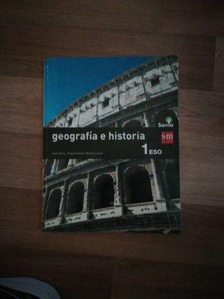 libro 1 eso geografia e historia