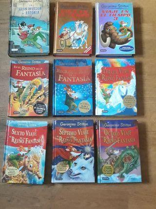 Colección de libros de Gerónimo Stilton