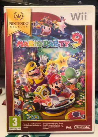 Mario Party 9 Wii