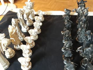 figuras de ajedred HARRY POTER