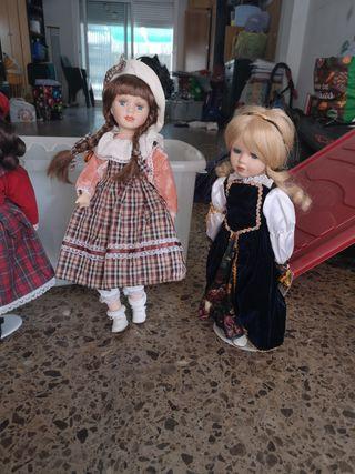 colección muñecas porcelana