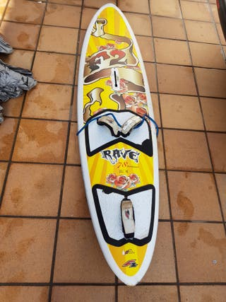 tabla windsurf 78 litros fanatic rave