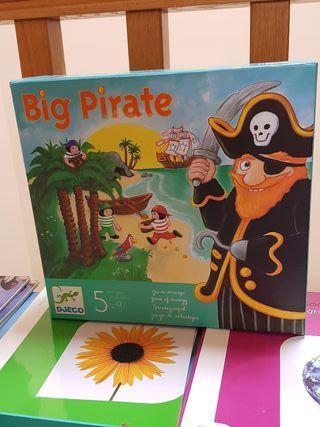 Big pirate. Juego de mesa.