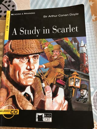 A Study in Scarlet (libro en inglés)