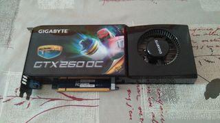 tarjeta grafica gigabyte GTX 260 oc