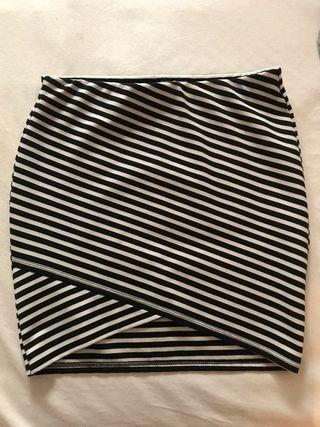 Mini falda tubo