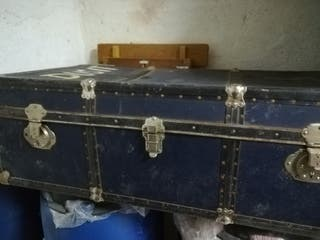 maleta/baúl antiguo