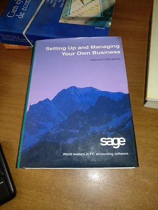 Libro creación de empresas en inglés