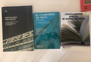 Libros Acceso universidad mayores 25 UNED