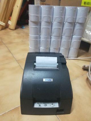 Impresora de tickets con 40 rollos