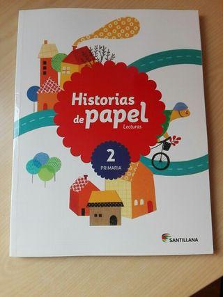 Historias de papel. Lecturas 2° Primaria