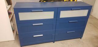2 x Cómoda Ikea Brimnes