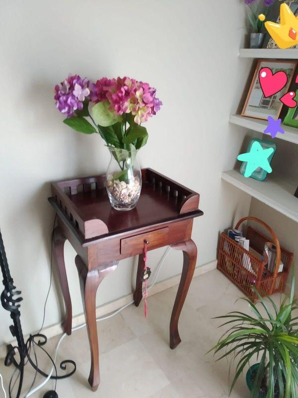 Mesa consola de Madera