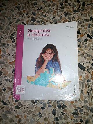 libro de Geografia 3 eso