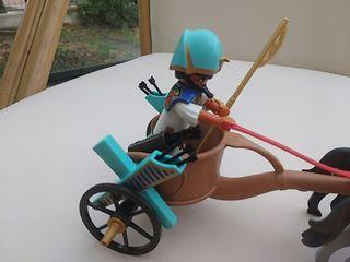 Playmobil biga egipcia.