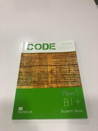Libro de texto de Inglés CODE GREEN