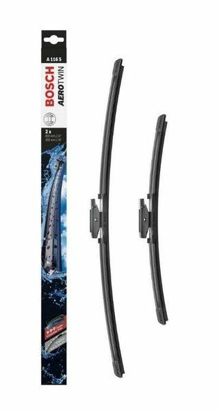 Limpiaparabrisas delanteros X2 A116s Bosch