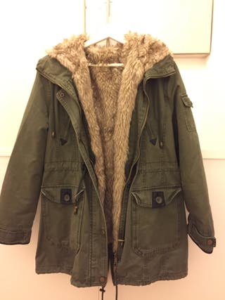Aita abrigo pelo talla L