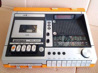 Radio Cassette WIFONA RCD 2020. Antiguo.