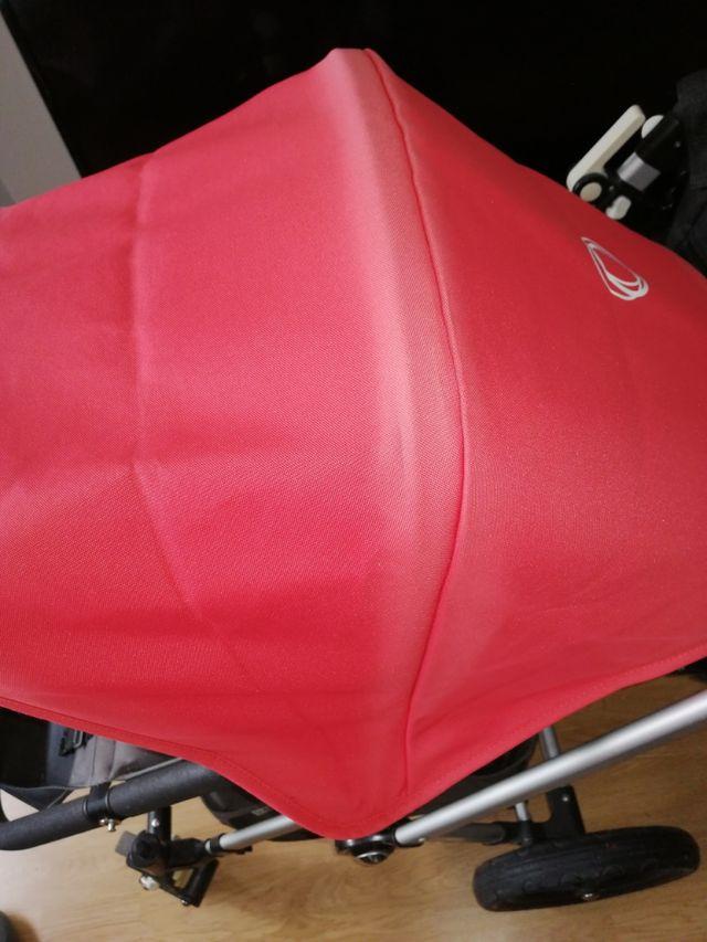 capota roja bugaboo
